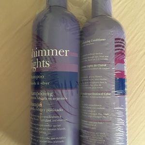 Claudio shimmer lights shampoo and conditioner